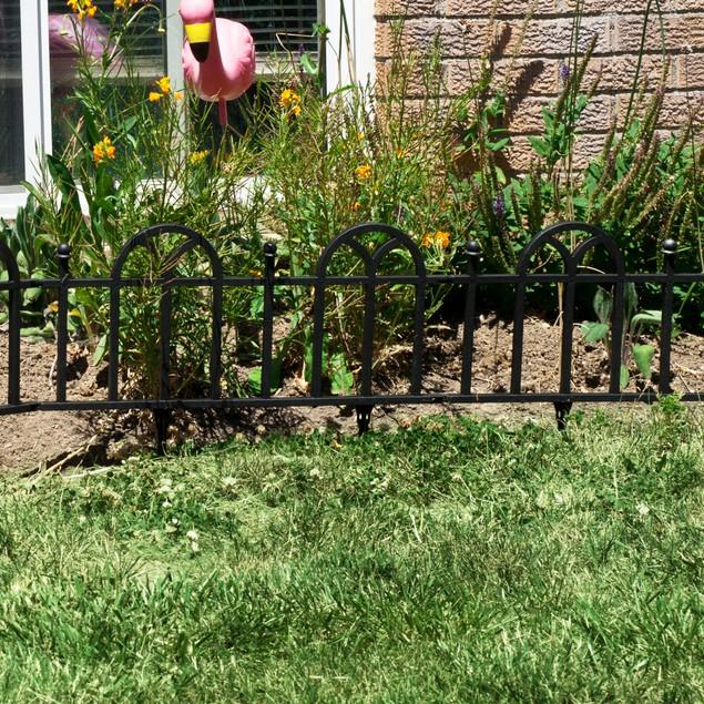 Victorian Garden Border Fencing Set by Pure Garden