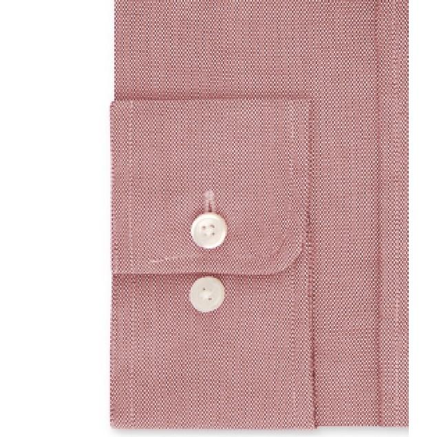 Tommy Hilfiger Collared Flex Performance Dress Shirt Pink 15.5x34-35