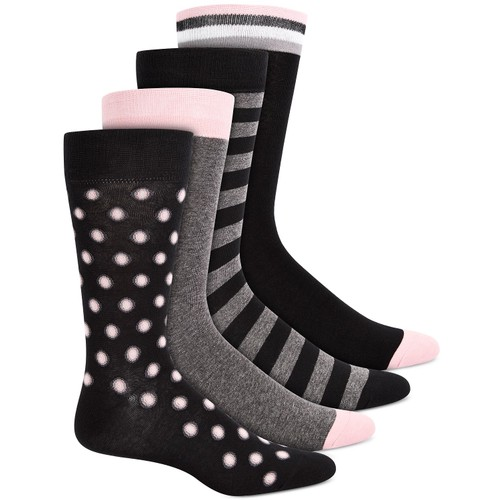 Bar III Men's 4-Pk. Socks Brown Size Regular