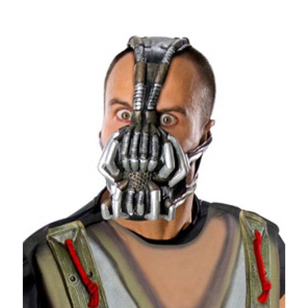 Bane Mask The Dark Knight Rises Adult Cosplay Costume Tom Hardy Gas Batman