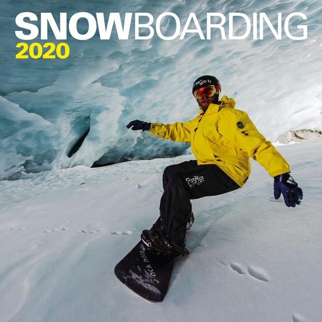 Snowboarding Wall Calendar, Board Sports by Calendars