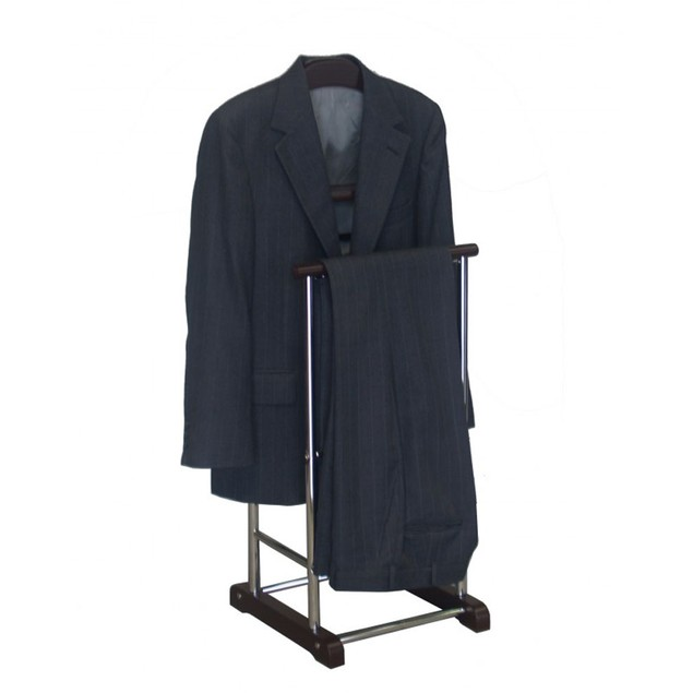 Proman Products Metal Frame Fuji Twin Men's Suit Valet Stand