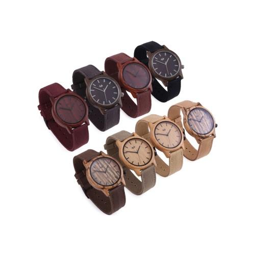 Webbed Brolly Wooden Wrist Watch