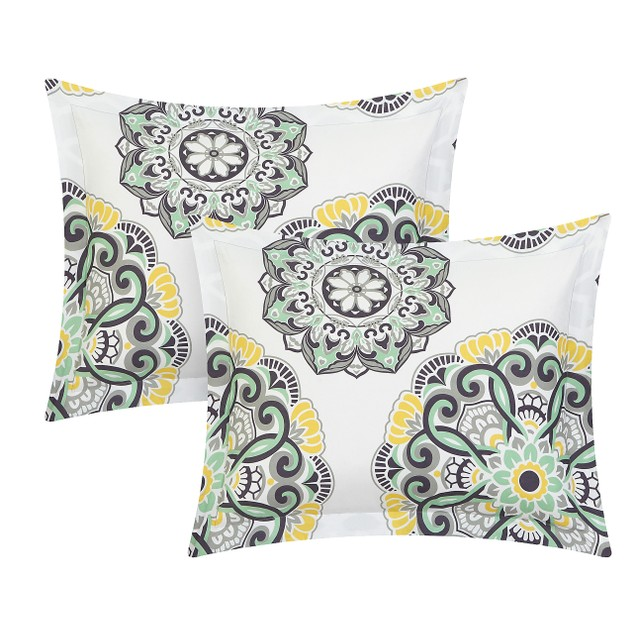 Chic Home 6/8 Piece Girona Super soft microfiber Bed In a Bag Comforter Set