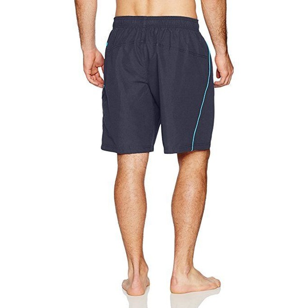 Speedo Men's Marina Core Basic Watershorts, Grey/Blue, SZ XX-Large