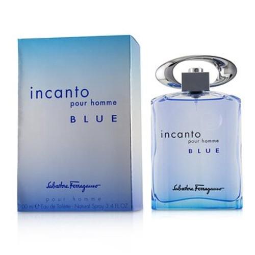 Salvatore Ferragamo Incanto Blue Eau De Toilette Spray