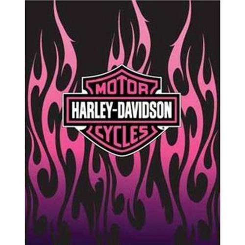 Harley Davidson Queen Blanket, 3 Styles