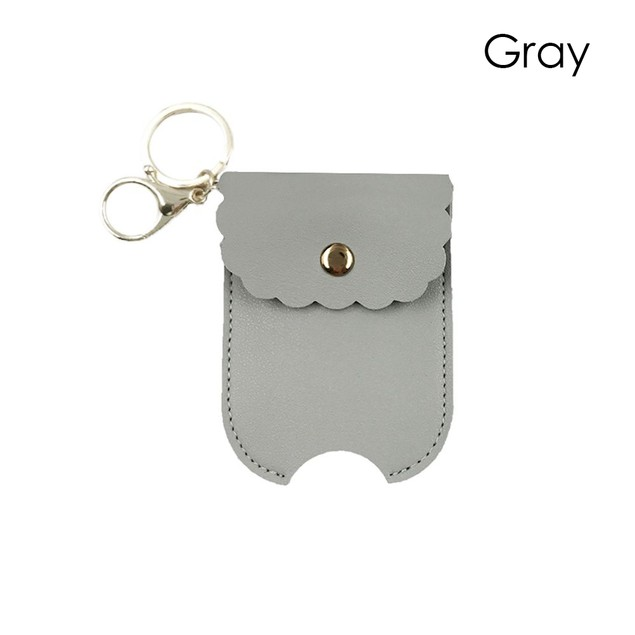 Hand Sanitizer Case With Carabiner - 6 Colors