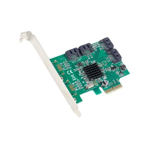 4 Port SATA III PCI-e 2.0 x2 Card