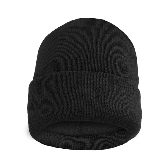 Men's Thermal Fleece Lined Baggy Fold Over Winter Hat