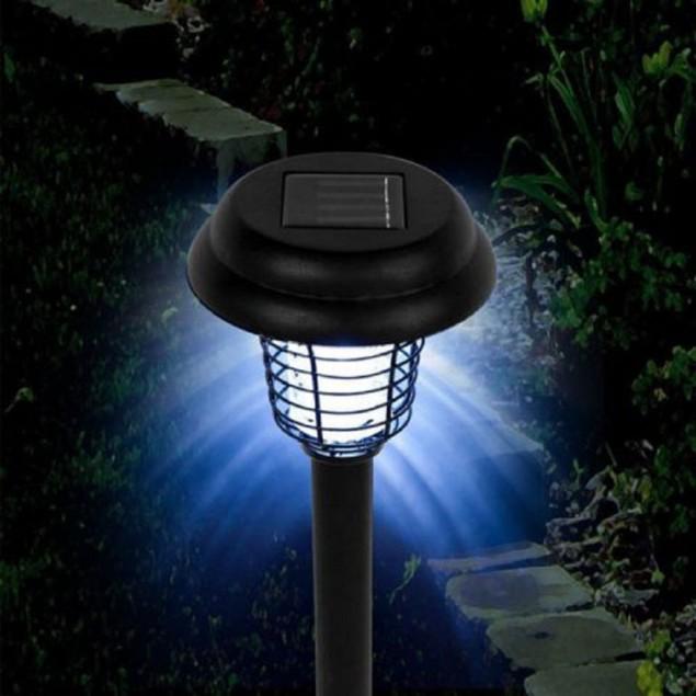 Solar Powered LED Bug Zapper