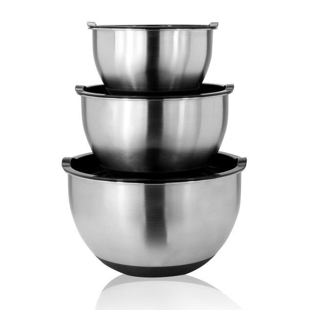 Stainless Steel Mixing Bowls - Set of 3 | MandW