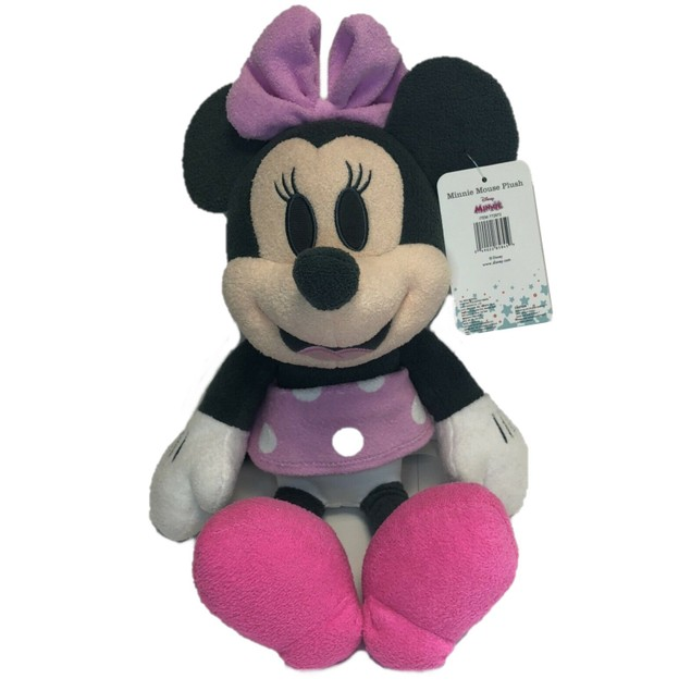 Disney Baby Minnie Mouse Pastel Pink Plush Toy, For 0+ Months