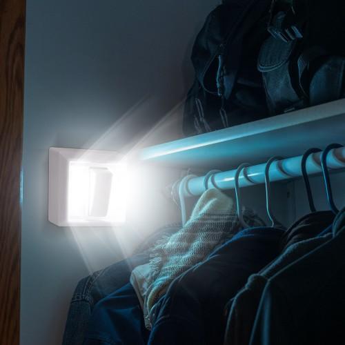 2-Pack Bright Basics Wireless Dual LED Light Switch