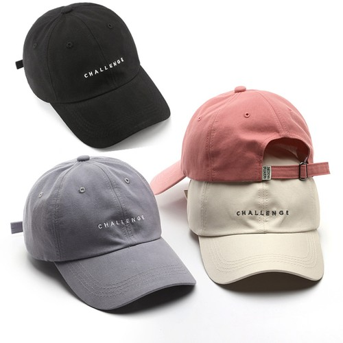 Unisex All-match Letter Embroidery Baseball Cap