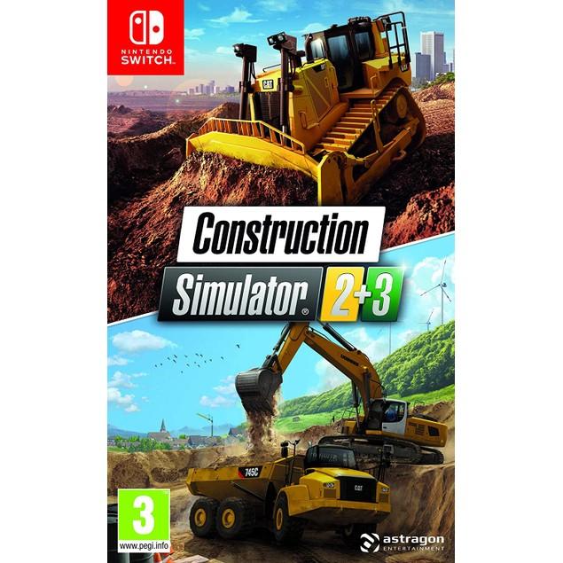 Construction Simulator 2+3 Bundle Nintendo Switch Game