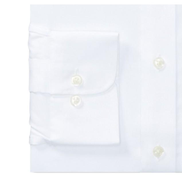 Ralph Lauren Slim Fit Non-Iron Stretch Pinpoint Dress Shirt White 15x34-35