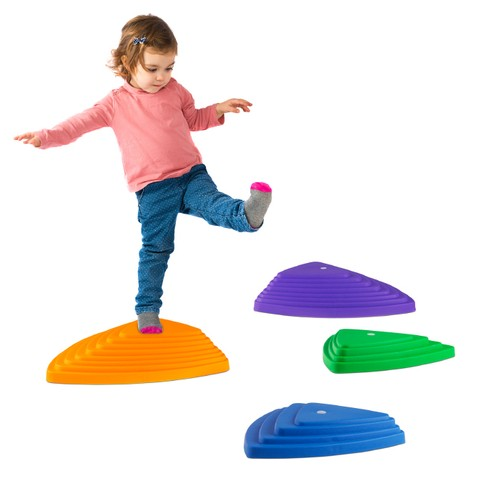 Triangular Stepping Stones- Fun Triangles for Balance, Coordination