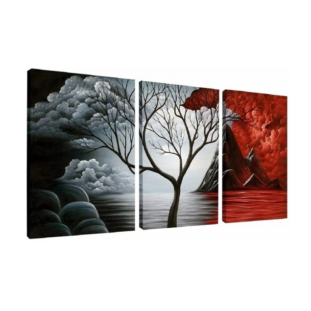 The Auras of Light and Dark Wall Decor Oil Paintings On Canvas