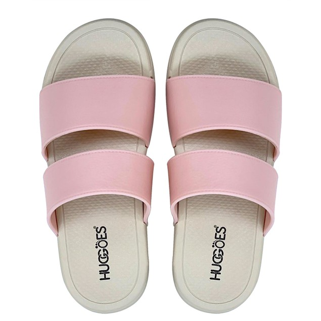 HUGGOES - Tuscan Women's Beach Essential Dual Strap Slide Sandals