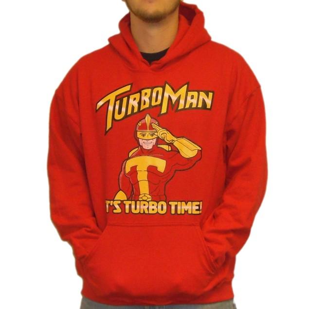 Turbo Man It's Turbo Time Hoodie