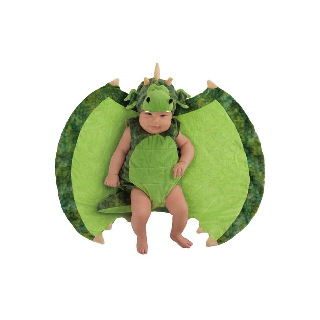 Swaddle Wings Darling Dragon Princess Paradise Costume Baby Newborn Outfit