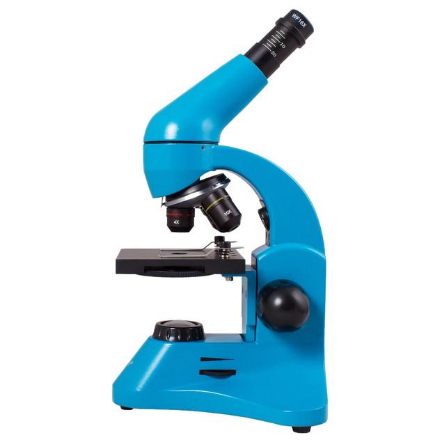 Levenhuk Rainbow 50L PLUS Microscope - Azure