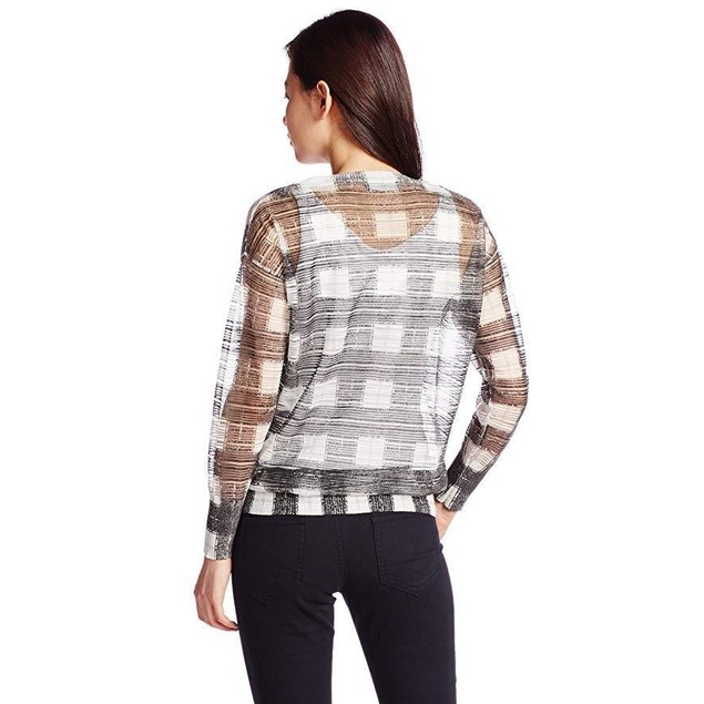 Diesel Women's M-Crepes Pullover Off-White Shirt