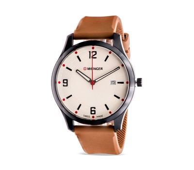 Wenger City Active Leather Mens Watch Was: $130 Now: $34.99.