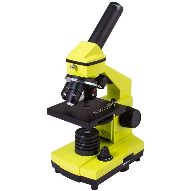 Levenhuk Rainbow 2L PLUS Microscope - Lime