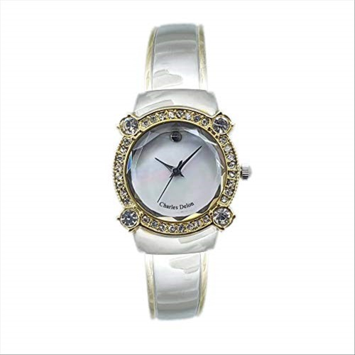 Charles Delon Women's Watches 4114 LTMT Silver/Gold/Silver/Gold Stainless Steel