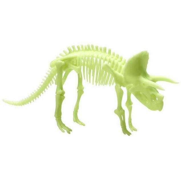 The Original Glowstars Company Glow Dinos Triceratops Skeleton