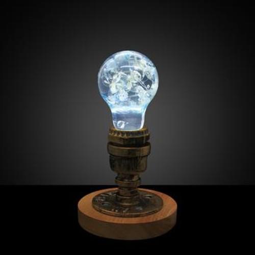 EP Vintage Table Lamp - Blue Hydrangea