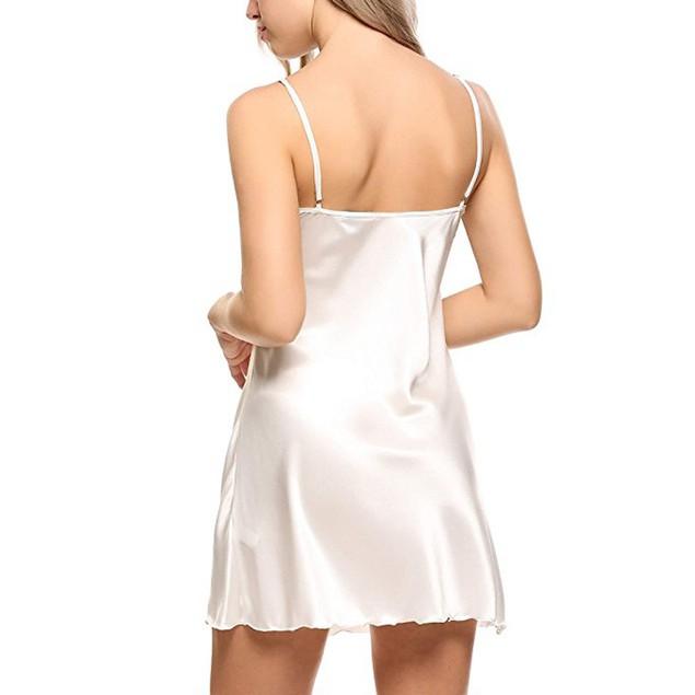 Women Lace Spice Lingerie G-String Strap Dress Sleepwear Underwear WH/XL
