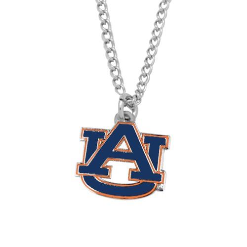 NCAA Auburn Tigers Sports Team Logo Necklace Charm Chain Gift