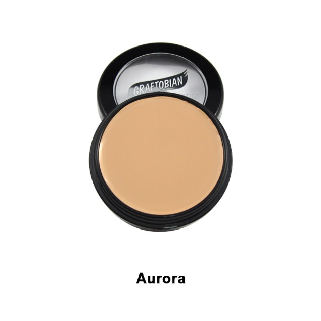 Aurora HD Glamour Creme Foundation 5oz. Graftobian Cruelty Free USA