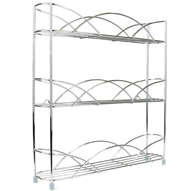 3 Tier Herb and Spice Rack | MandW Chrome