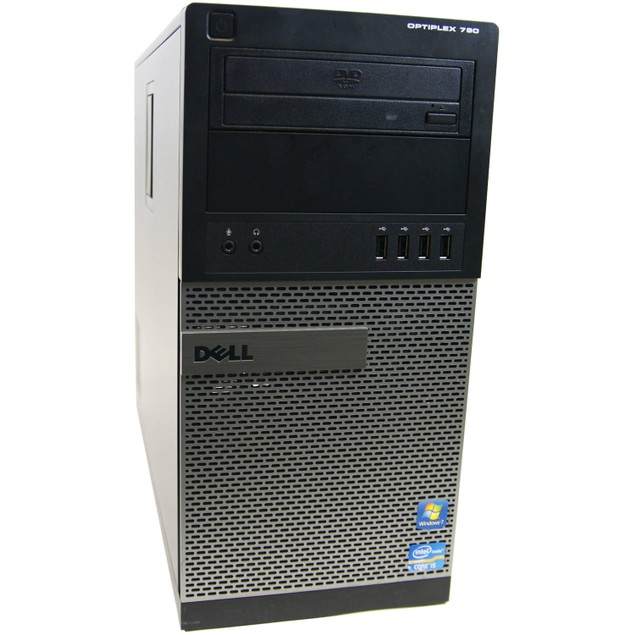 Dell 790 Tower Intel i5 4GB 500GB HDD Windows 10 Professional