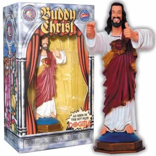 Buddy Christ Dashboard Figure Dogma Kevin Smith Movie Christmas Wink Statue