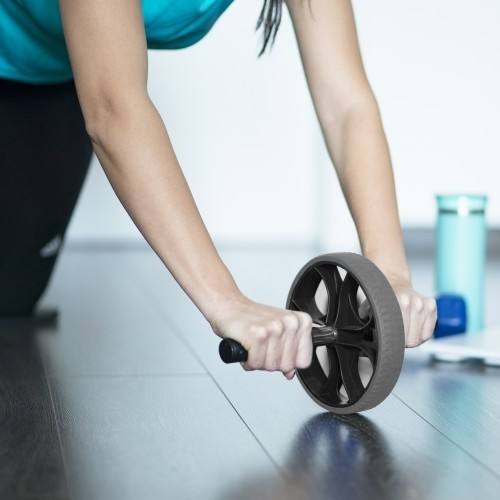 Nicole Miller Sport Ab Roller Workout Wheel