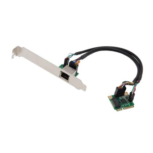 Single Port Gigabit Mini PCI-e Network Card