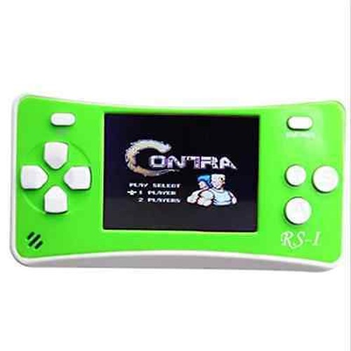 "8-Bit Retro 2.5"" COLOR LCD 150+ Video Games Portable Handheld Console (Gree"