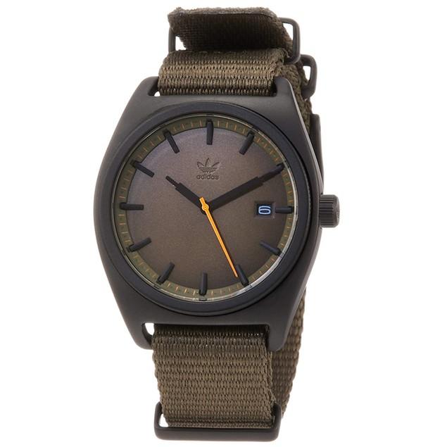 Adidas Men's Process W2 Olive Dial Watch - Z09-3044