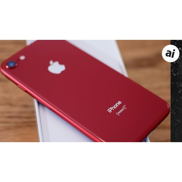 Apple iPhone 8, AT&T, Red, 64 GB, 4.7 in Screen