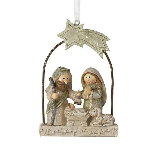 Nativity Arch Hanging Decoration