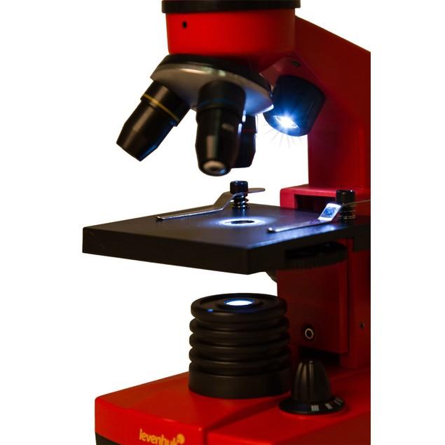 Levenhuk Rainbow 2L Microscope - Orange