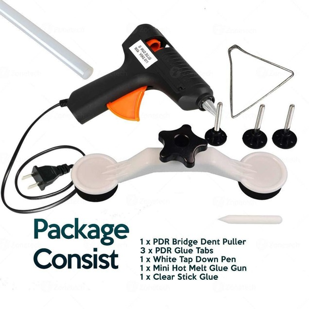Zone Tech Dent Repair Removal Tools Car Body Kit Puller Glue Gun Sticks