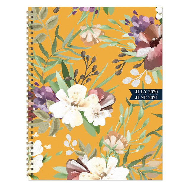 July 2020 - June 2021 Sophisticated Large Daily Weekly Monthly Planners