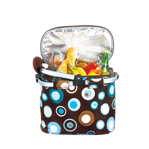 Picnic Plus Shelby Collapsible Market Tote Cafe Ole