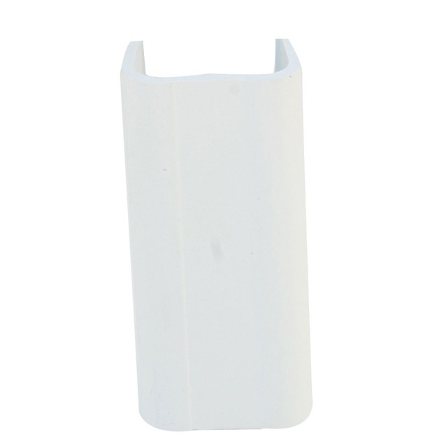 1.25 inch Surface Mount Cable Raceway, White, Joint Cover